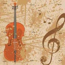 Hintergrund Musik Noten Notenschlüssel Vektor
