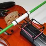 ボウイングが上手くなる!バイオリンの棒式弓ガイド作ってもらいました(2)